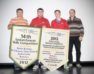 2012 Provincial Saskatchewan and National Robotics Team Winners
