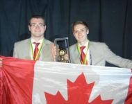 Gold Medal Winners at the 2012 WorldSkills Americas in Brazil